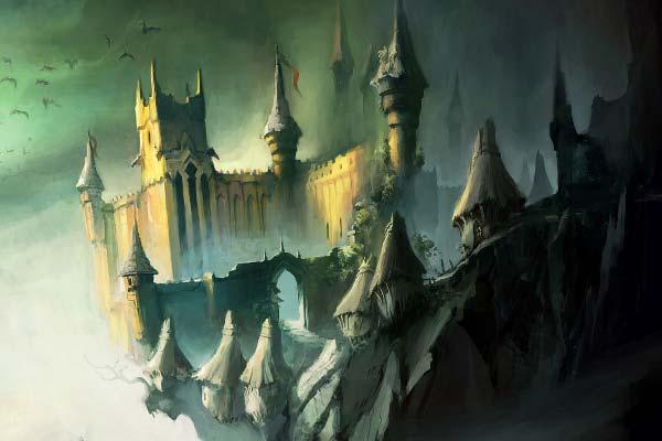 мрачное царство Кощея Бессмертного