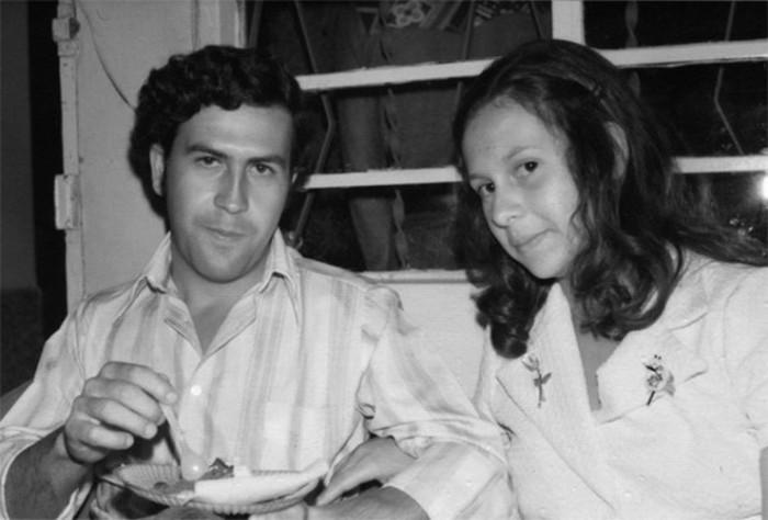 Пабло Эскобар с женой Марией. / Фото: www.ruinformer.ru